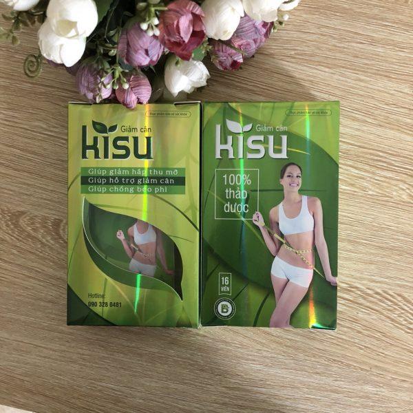 Thuốc giảm cân Kisu hiệu quả cho người muốn giảm cân an toàn