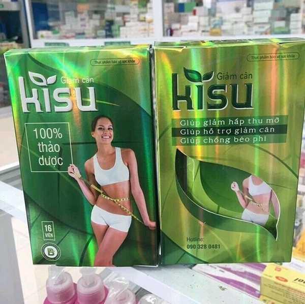 Lựa chọn thuốc giảm cân Kisu