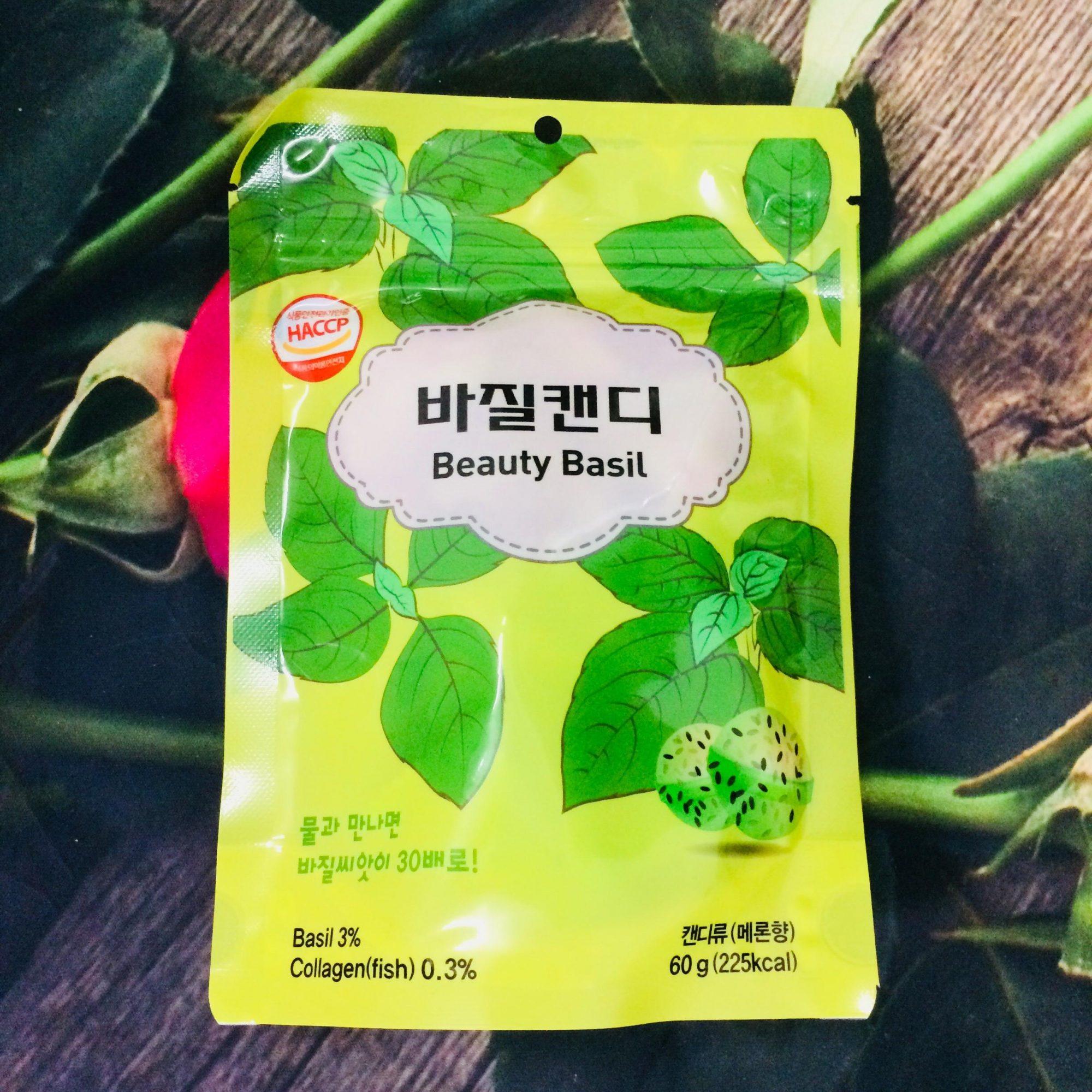Kẹo giảm cân Beauty Basil Hàn Quốc có tốt không, giá bao nhiêu, mua ở đâu, review, webtretho, có giảm cân không, có hiệu quả không, đẹp da