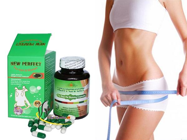 thuốc giảm cân new perfect có tốt không, giá bao nhiêu, viên uống giảm cân, cách dùng, new perfect slim, có an toàn không, win perfect, rich slim, collagen slim, sumbeau, detox, usa, kỳ duyên,