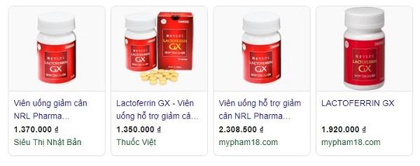 Thuốc giảm cân Lactoferrin GX có tốt không, Thuốc giảm cân Lactoferrin GX có hiệu quả không, Thuốc giảm cân Lactoferrin GX review, Thuốc giảm cân Lactoferrin GX webtretho, Thuốc giảm cân Lactoferrin GXgiá bao nhiêu, Thuốc giảm cân Lactoferrin GX mua ở đâu.