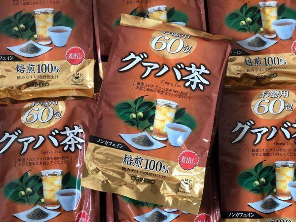 Kết quả hình ảnh cho trà ổi giảm cân orihiro