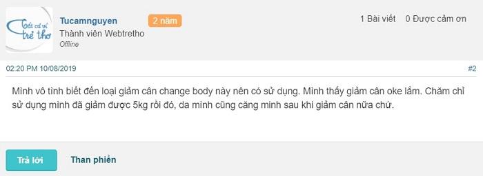 viên uống thảo mộc giảm cân Change Body có tốt không, viên giảm cân thảo mộc change body, thuốc giảm cân change body, giảm cân change body có tốt không, thuốc giảm cân change body giá bao nhiêu, review thuốc giảm cân change body, viên thảo mộc giảm cân