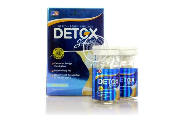 Thuốc giảm cân Detox Slimming có tốt không review chi tiết