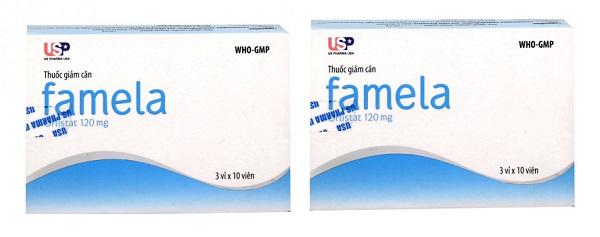 Thuốc giảm cân Famela có tốt không, giá bao nhiêu review webtretho