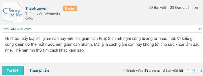 Viên sủi Frujt Slim có tốt không, Frujt Slim giảm cân, Viên sủi giảm Frujt Slim, review viên sủi Frujt Slim, viên sủi Frujt Slim review.