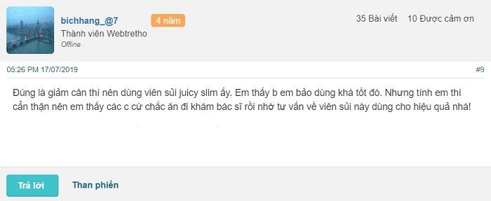 Viên sủi giảm cân Juicy Slim có tốt không? Giá bao nhiêu? Review webtretho, viên sủi giảm cân juicy slim, viên sủi giảm cân juicy slim giá bao nhiêu, viên sủi giảm cân juicy slim review, giá viên sủi giảm cân juicy slim, review viên sủi giảm cân juicy slim, viên sủi juicy slim giảm cân, juicy slim review, thuốc giảm cân juicy slim, jucy slim, juicyslim, juici slim, thuốc giảm cân juicy slim, vien sui giam can juicy slim, vien sui juicy slim, juci slim, vien sui juicy, juicy slim weight loss