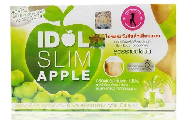 Trà giảm cân Idol Slim Apple có tốt không? Giá bao nhiêu? Review chi tiết 2019
