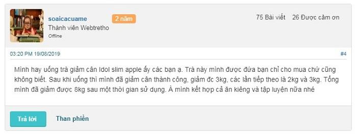trà giảm cân idol slim apple thái lan, idol slim apple review, trà giảm cân idol slim apple có tốt không, trà giảm cân idol slim apple, cách sử dụng idol slim apple, thuốc giảm cân idol slim apple