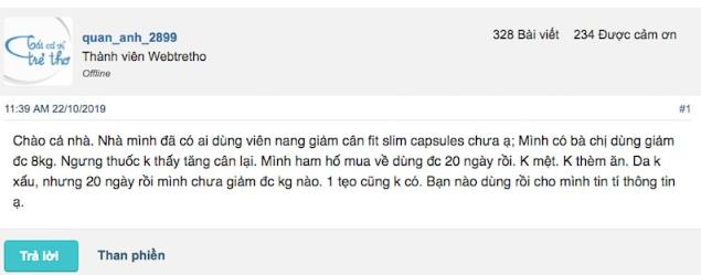 review thuốc giảm cân Slim Fit Plus có tốt không, thuốc giảm cân Slim Fit Plus giá bao nhiêu, viên uống giảm cân Slim Fit Plus có tốt không