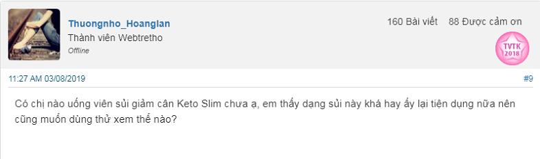 Review viên sủi giảm cân Keto Slim có tốt không, viên sủi giảm cân Keto Slim giá bao nhiêu, thuốc giảm cân Keto Slim, viên sủi keto slim