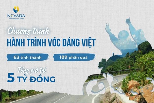 Cơ hội thoát béo miễn phí từ Hành trình vóc dáng Việt với quà tặng 5 tỷ đồng
