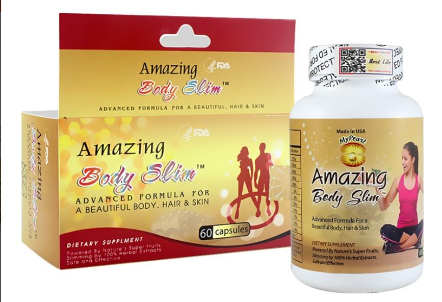 Thuốc giảm cân Amazing Body Slim giảm cân có tốt không? Giá bao nhiêu?